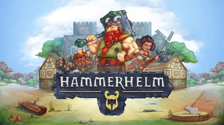 City-building RPG HammerHelm launched on Steam today