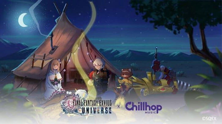 Hit Final Fantasy Mobile Games Feature Limited-time In-game Events with Chillhop Music