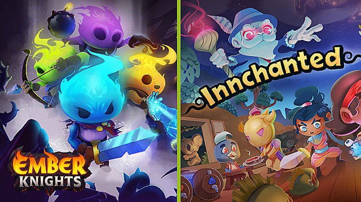 Asmodee Digital widens its portfolio by publishing two new games, Ember Knights and Innchanted