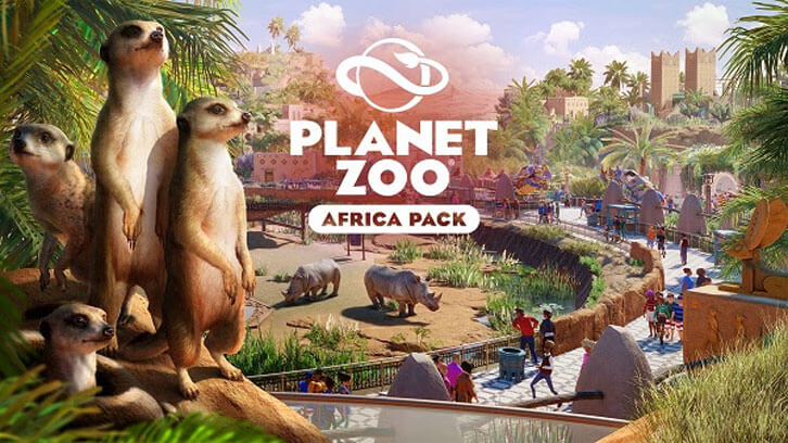 The ultimate zoo simulation expands with Planet Zoo's Africa Pack!