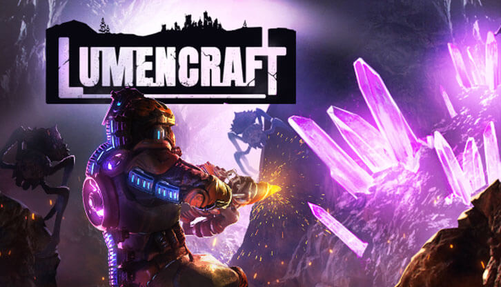 2Dynamic Games and Star Drifters present a jointly developed subterranean survival shooter, Lumencraft