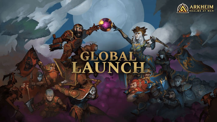 Arkheim - Realms at War - Launches Globally!