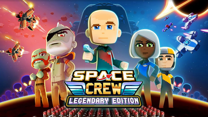 Space Crew: Legendary Edition out now on PC and consoles
