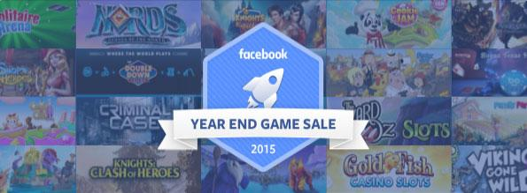 Facebook Year End Sale is here!