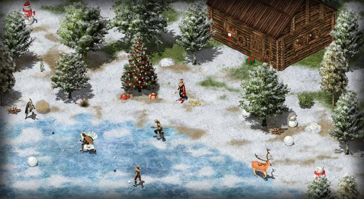 Wild Terra: Snowball fights, anyone?