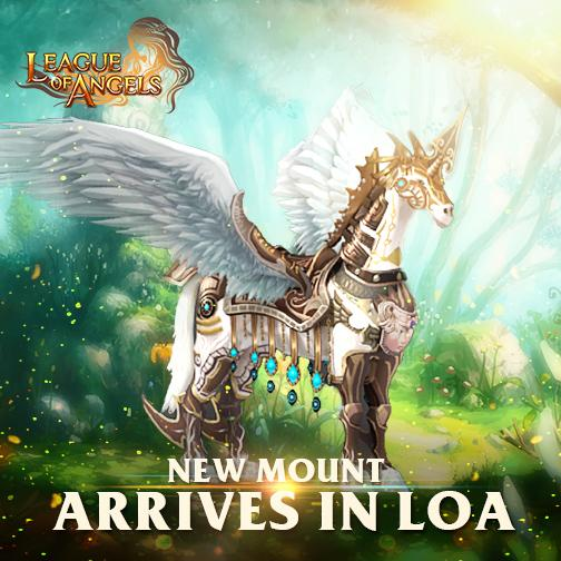 A Legendary New Mount Released in League of Angels