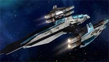 Vendetta Online: Beautifully designed and customizable spaceships