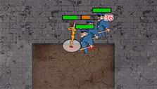 Prison Wars Online: Fighting the guards