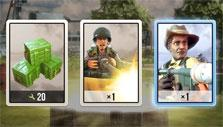 New cards obtained in Battle Islands: Commanders