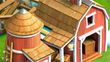 The barn at your farm in Funky Bay