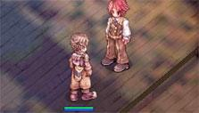Buying stuff from a vendor in Ragnarok Online