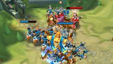 Lords Mobile: War gameplay