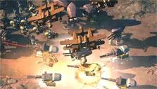 Aerial bombardment in Art of War: Red Tides