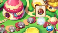 Level selection in Fairy Quest