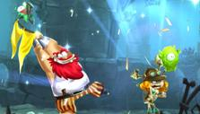 Level complete in Rayman Adventures