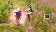 Foraging a plant in Revelation Online