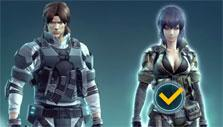 Choosing an operative in Ghost in the Shell: First Assault Online