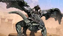 Dragon mount in Riders of Icarus