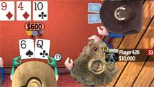 Higher stakes Cashgame in Governor of Poker 3