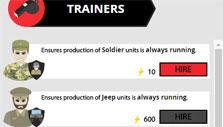 War Clicks: Investing cash in trainers