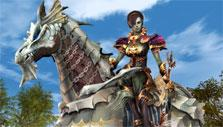 Horse mount in Lineage II
