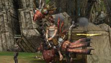 Cool steampunk mount in Lineage II
