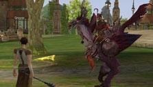 Lineage II: Hanging out in town