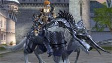 Wolf mount in Lineage II