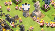 Base Attack in Clash of Clans