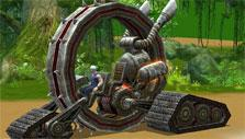 War of the Immortals: Terror wheel mount