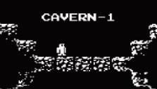 Entering the cavern in Downwell