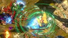 Cool battle effects in Path of Exile