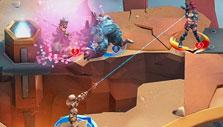 Attacking the enemy in Insidia