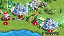 World map in Crystal of Re:union