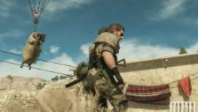 Bringing a wild ram to the Mother Base in Metal Gear Solid V: The Phantom Pain