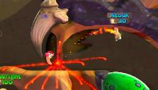 Fire punch in Worms: Battlegrounds