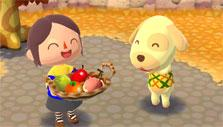 Animal Crossing: Pocket Camp: Enjoying fruits with new friends
