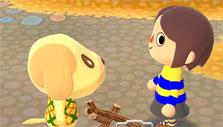 Completing requests in Animal Crossing: Pocket Camp