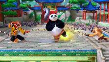 Four way battle in Kung Fu Panda Showdown of Legendary Legends