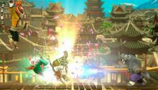 Master Shi Fu attacks in Kung Fu Panda Showdown of Legendary Legends