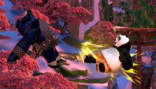 Po going all out in Kung Fu Panda Showdown of Legendary Legends