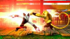 Monkey fighting in Kung Fu Panda Showdown of Legendary Legends