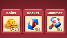 Opening a Toon Chest in Toon Blast