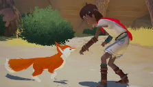 The boy and the fox in Rime