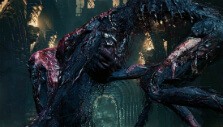 An inexplicably ugly boss in Bloodborne