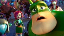 Captain Qwark in Ratchet & Clank