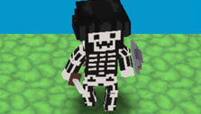 Skeleton skin in WarPixIO Online
