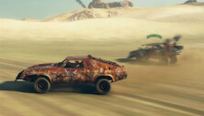 Facing off against one enemy car in Mad Max