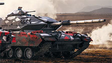 Red Camo in Armored Warfare