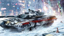 Snowscape in Armored Warfare